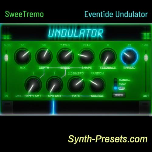 SweeTremo for Eventide Undulator