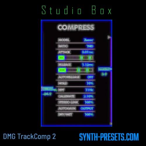 Studio Box For DMG TrackComp 2